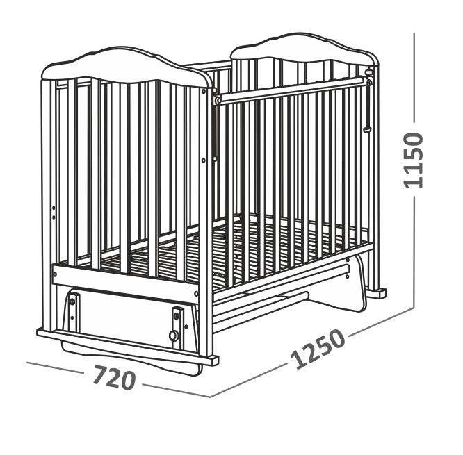 Схема кровати маятника
